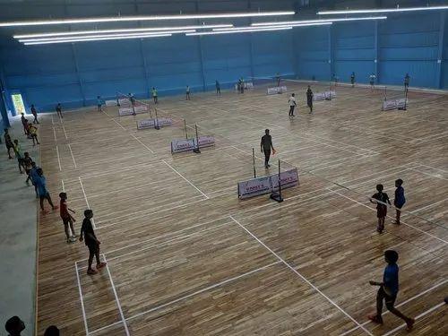 Badminton Court Flooring - Wooden Badminton Court Flooring