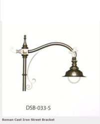 DSB-033-S Roman Cast Iron Street Bracket