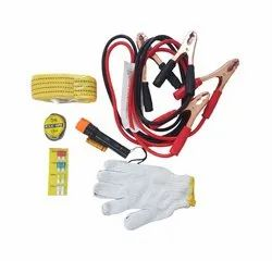 Car Emergency Kit (6 in 1 Set) For All Type of Saloon/Sedan Cars (With Towing Rope)