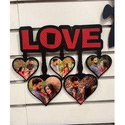 Plastic Wall Hanging Photo Frame