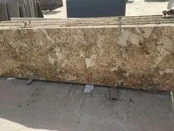 Thick Slab Polished Alaska Gold Granites, Flooring, Thickness: 40 mm
