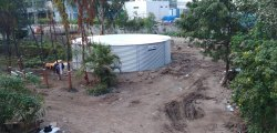 Fire/Drinking Water Storage Tanks