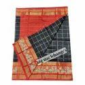 Handloom Pochampally Ikkat Silk Lehenga Material