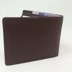 Mens Dark Tan Leather Wallet