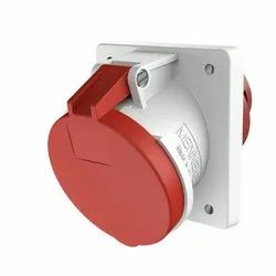 1151 Panel Mounted Industrial Socket Receptacle