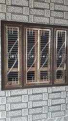 Steel Grill Window