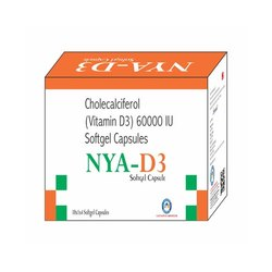 Cholecalciferol Vitamin D3 60000 Iu