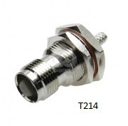 TNC  Crimp Type T214 Connectors