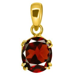 Garnet Pendant Men and Women Asthdhatu Gemstone