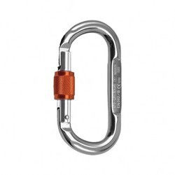 Rock Empire Steel Oval Screw Lock Carabiner