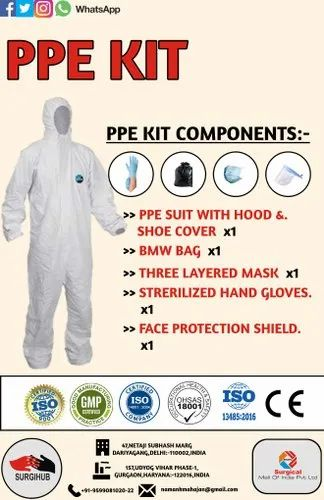 Personal Protection Kit for Covid-19 (PPE Kit)