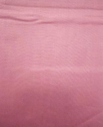 Polyester Excel Chanderi Plain Fabric