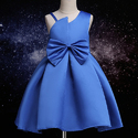 Stylish Party Dress With Cute Big Bow