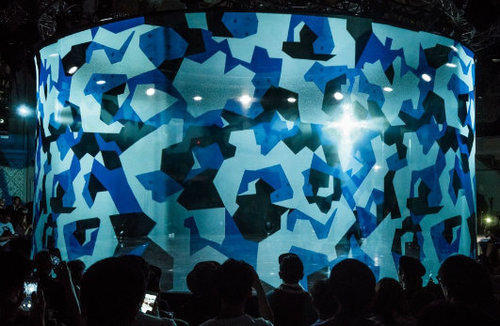 3D Holographic Stage
