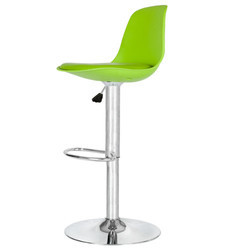 Flouroscent Green Colored Bar Stool