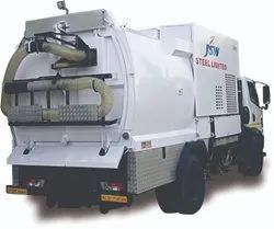 Chassis Mounted Industrial Vacuum Cleaner with Sweeper Attachment