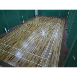 Badminton Court Wooden Flooring Service