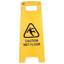 Wet Floor Caution Stand