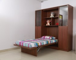 Space Saving Kids Wardrobe and Bed