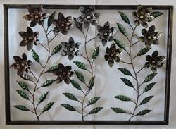 Flower Design Wall Decor