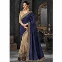 Ladies Designer Heavy Border Silk Saree