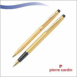 Pierre Cardin Pen Set (Kriss Satin Gold)