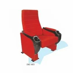 IAC-015 Red Push Back Deluxe Auditorium Chair