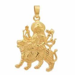 SHPN-1173 925 Goddess Ma Durga Pendant