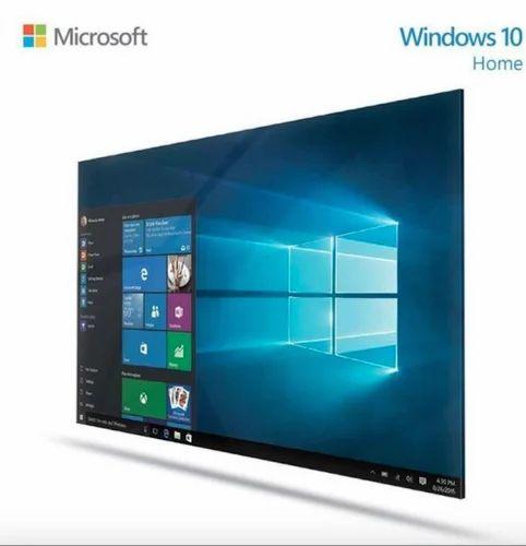 Microsoft Windows 10 Home 32/64 Bit