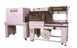 Vertical L Bar Sealer and Shrink Tunnel