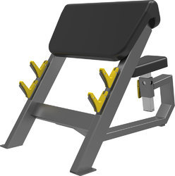 Non Weight Machine Seated Preacher Curl Cosco CE-3044