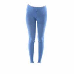 Blue Ladies Stretchable Legging
