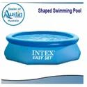 Blue Oval Shaped Swimming Pools, For Hotels/resorts