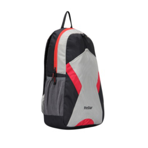 e588c41f35 Polyester Red Spike Campus Backpack Bag