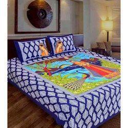 Sanganeri Designer Bed Sheet