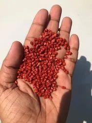 Red Plastic Granule, Packaging Size: 25 kg, for Plastic Industry