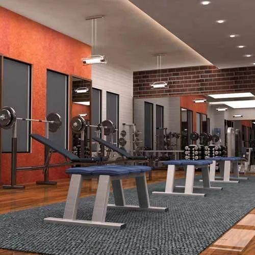 Customized Gym Interior Designing Service