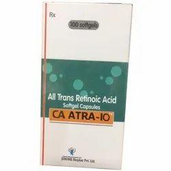 CA Atra IO Capsules, Treatment: Acute Promyelocytic Leukaemia, Packaging Type: Box