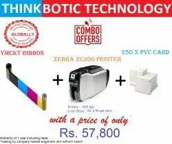Zebra Zc300 Printer Combo Pack