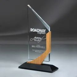Acrylic Trophy With Laser Engraving