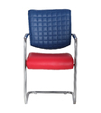 Visitor Red and Blue Chair