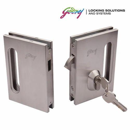Glass Door Lock 04 At Rs 13630 Piece Glass Door Locking System