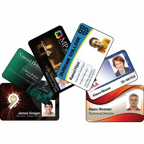 Plastic Card Printing Service