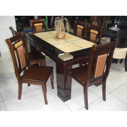 Granite Dining Table With Chair