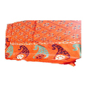 GP-D314 Orange Color Cotton Gujri Dupatta