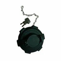 Black Mild Steel,PVC Truck Fuel Tank Cap, For Automobile Industry