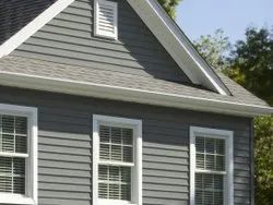 White Acrylic Vinyl Siding, for Industrial, Thickness: 1 to 2 mm