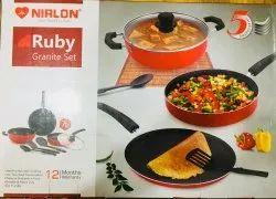 NIRLON Ruby Granite Gift Set