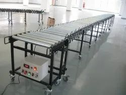 Flexible Roller Conveyor Motorized