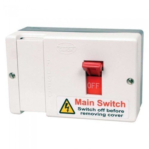 White Electric Main Switch, 220-440watt, Rs 250 /piece N Enterprise | ID:  15108792948